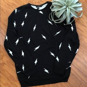 Men's Lightning Strike Sweater